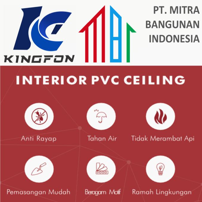 Jual Kingfon Plafon PVC PT Mitra Bangunan Indonesia 3