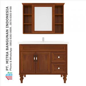 Shunda Cabinet PVC - Floor Standing - Brown Alder - K100C-0202