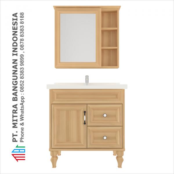 Shunda Cabinet PVC - Floor Standing - Natural Maple - K80B-0102