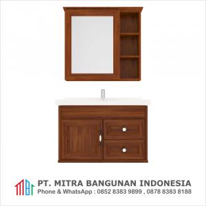 Shunda Cabinet PVC - Wall Mounted - Brown Alder - G80B-0201