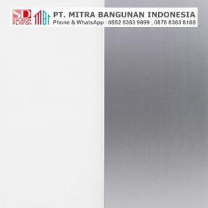 Shunda Plafon PVC - Fancy - Silver and White - PL 08.007