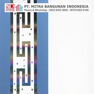 Shunda Plafon PVC - Mozaic - Light Sky Blue With Silver Mozaic - PL 2512