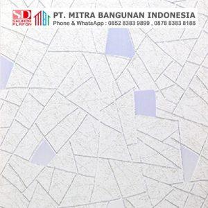 Shunda Plafon PVC - Mozaic - Silver Gray Abstract Mozaic - MO 20068