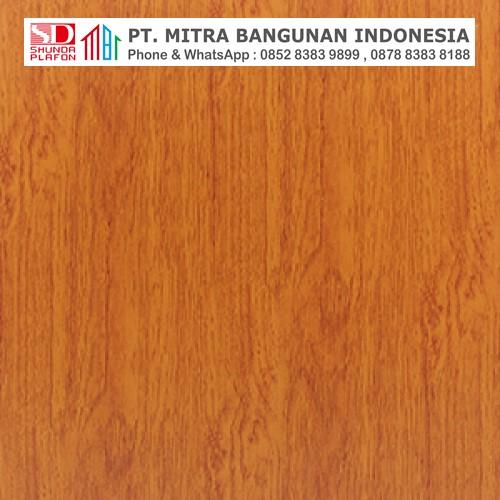 Shunda Plafon PVC - Natural Wood - Apple Tree Wood - PL 2517