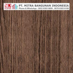 Shunda Plafon PVC - Natural Wood - Brown Maple Wood Grain - PL 08.019 PL 10.019