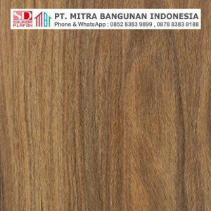 Shunda Plafon PVC - Natural Wood - Dark Teak Wood - NK 20076