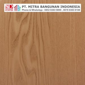 Shunda Plafon PVC - Natural Wood - Natural Beech Wood - PL 2519