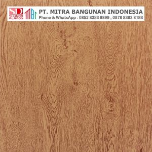 Shunda Plafon PVC - Natural Wood - Red Cedar Wood - PL 2520