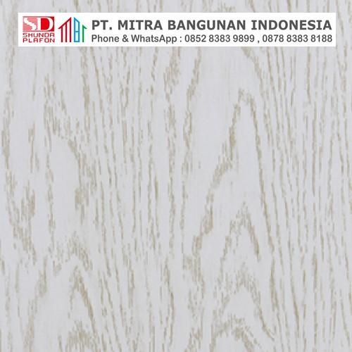 Shunda Plafon PVC - Natural Wood - White Wood - PL 2514