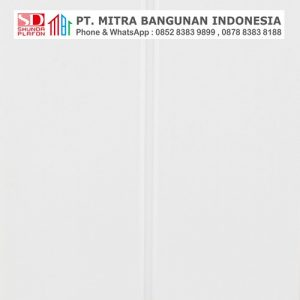 Shunda Plafon PVC - Pure White - Pure White With Drain Glossy - PL 06.061 PL 08.001