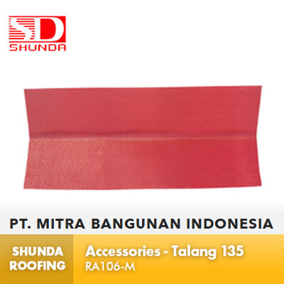 Shunda Roofing Atap UPVC - Accessories - Talang 135 - RA106-M